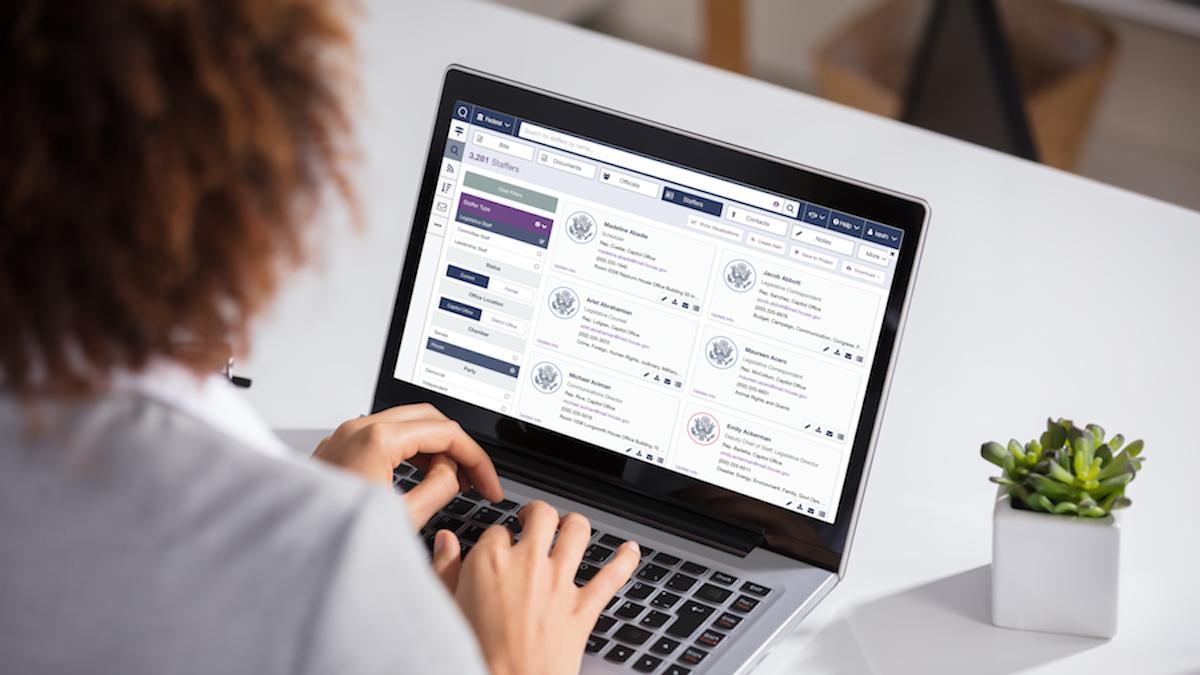 YMCA Builds Legislative Stakeholder Database in Quorum