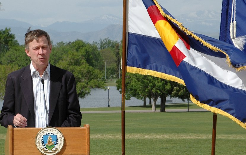 Want to Get Stuff Done? John Hickenlooper Says to Look to Governors
