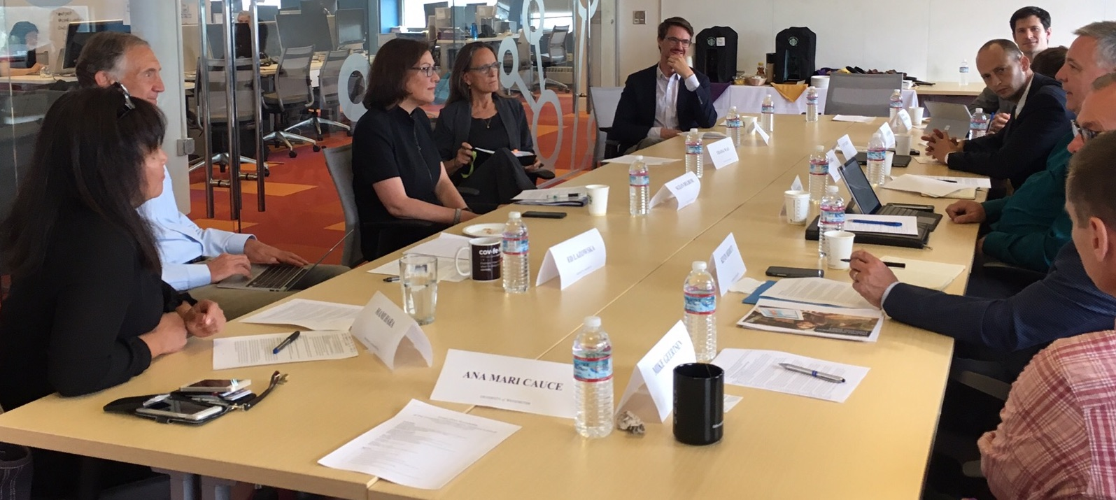 Rep. Suzan DelBene met with various stakeholders in August prior to introducing her legislation to the House of Representatives.